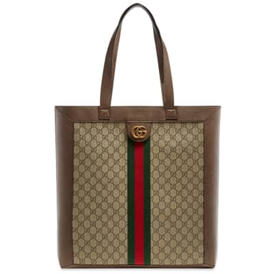 Gucci Ophidia GG Tape Wallet Tote Bag