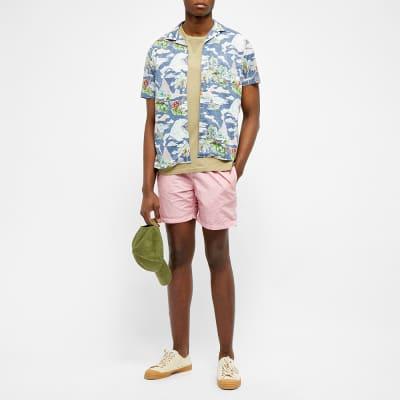 Hartford Hawaiian Scene Vacation Shirt