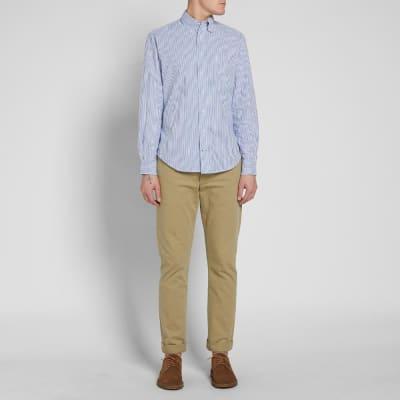 Gitman Vintage Stripe Seersucker Shirt