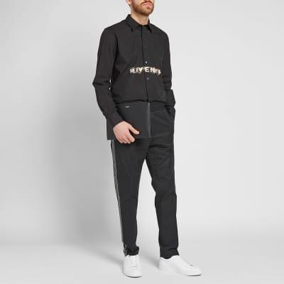 Givenchy Faded Logo Poplin Shirt