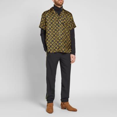 Givenchy Short Sleeve 4G Cubism Shirt
