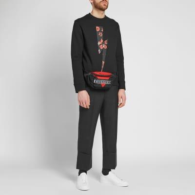 Givenchy Triangle Nylon Bum Bag