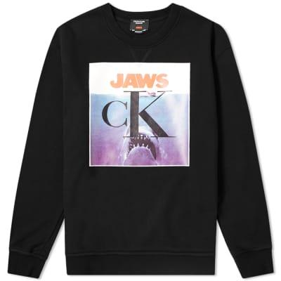 Calvin Klein 205W39NYC JAWS Crew Sweat