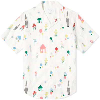 a3faa9c4220 Thom Browne All Over Gnome Print Vacation Shirt ...