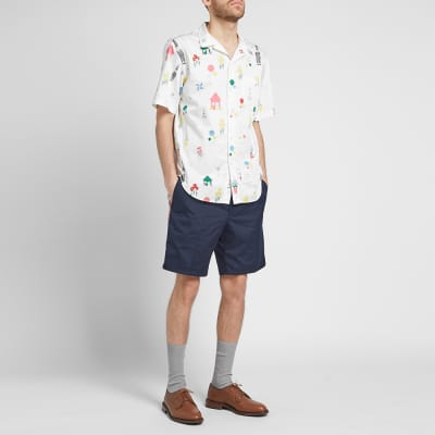 3f5c4ea2f6d7 ... Thom Browne All Over Gnome Print Vacation Shirt