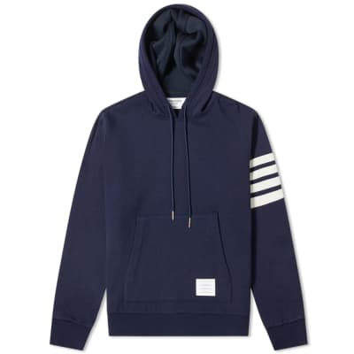 1816f3b75a4 Thom Browne Shell Back Cashmere Pullover Hoody ...