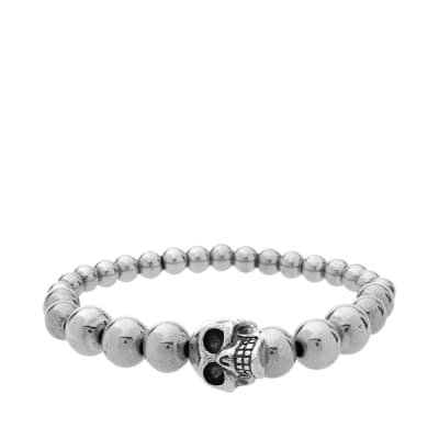 Alexander McQueen Skull Ball Bracelet