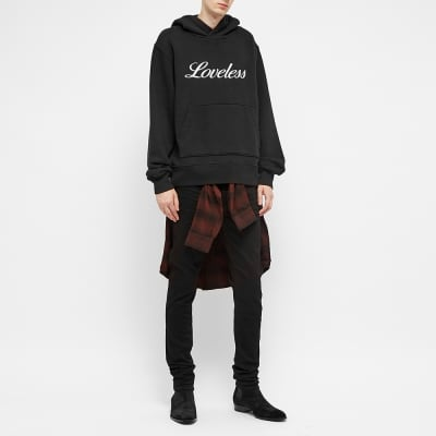AMIRI Loveless Embroidered Hoody