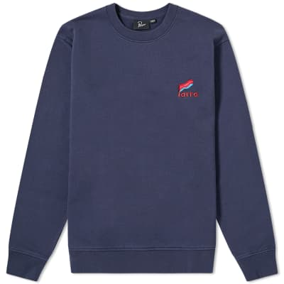 By Parra Flapping Flag Crew Sweat
