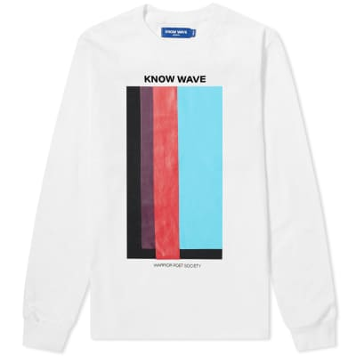 Know Wave Long Sleeve Volume Issue Tee