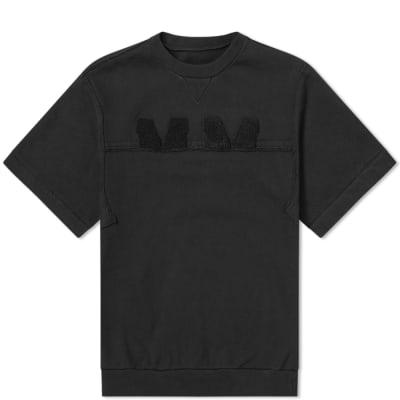 Maison Margiela 10 Short Sleeve MM Logo Sweat