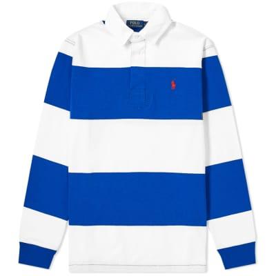 Polo Ralph Lauren Long Sleeve Striped Rugby Shirt ... e7b8b7bf71