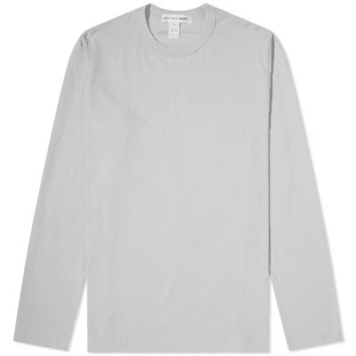 16e27ca6f3 Comme des Garcons SHIRT Long Sleeve Logo Tee ...