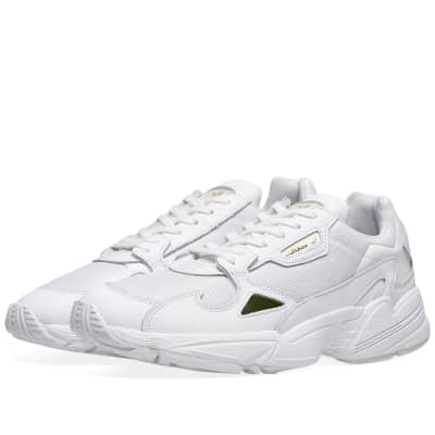 cheap for discount a4ed7 26a91 Adidas Falcon W White  Gold Metallic