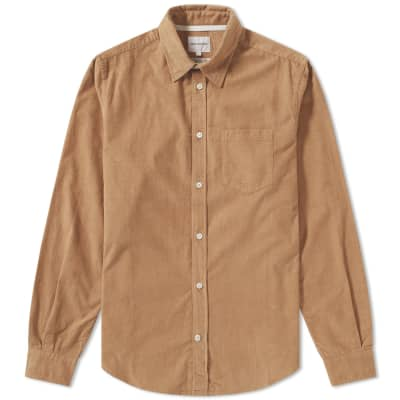 Norse Projects Osvald Corduroy Pocket Shirt ... f16883640a