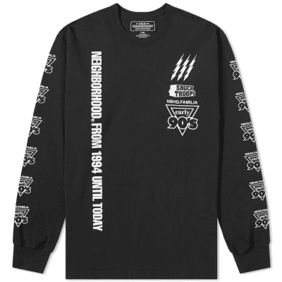 d402e4e654c Neighborhood Long Sleeve Familia Tee ...