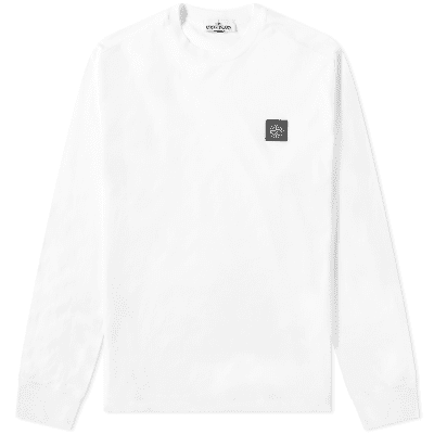 b131baeb Stone Island Long Sleeve Patch Logo Tee ...