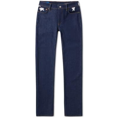 Acne Studios North Star Print Slim Fit Jean
