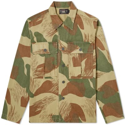 RRL Camo Overshirt Jacket