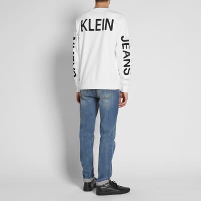 Calvin Klein Institutional Back Logo Sweat