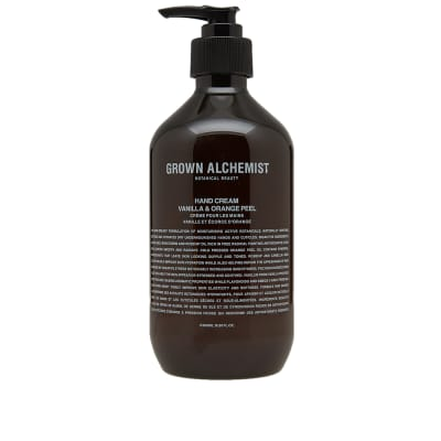 Grown Alchemist Vanilla & Orange Peel Hand Cream