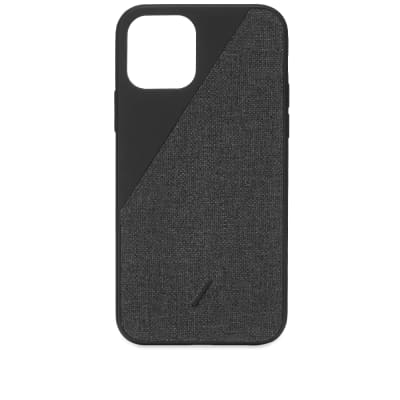 Native Union Clic Canvas iPhone 11 Pro Max Case