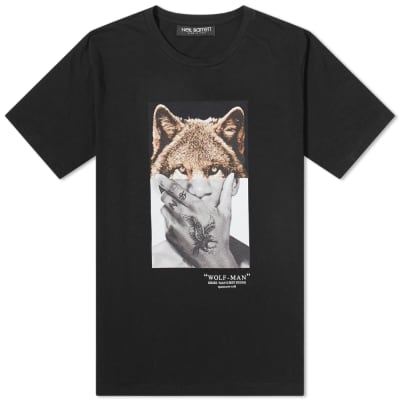 Neil Barrett Wolf-Man Tee
