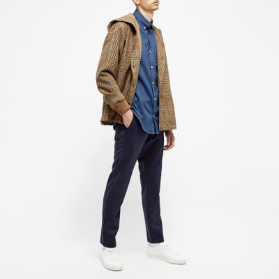NN07 Levon Flannel Button Down Shirt