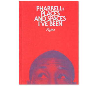 Pharrell: Places & Spaces I've Been - Red Cover