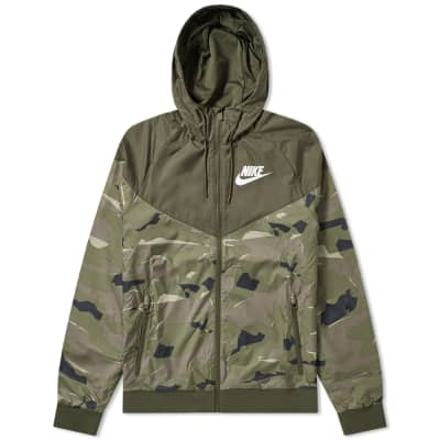 Nike Wind Runner Camo Jacket