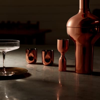 Tom Dixon Plum Cocktail Shaker