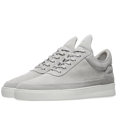 4e4501870487a9 Filling Pieces Low Top Suede Sneaker ...