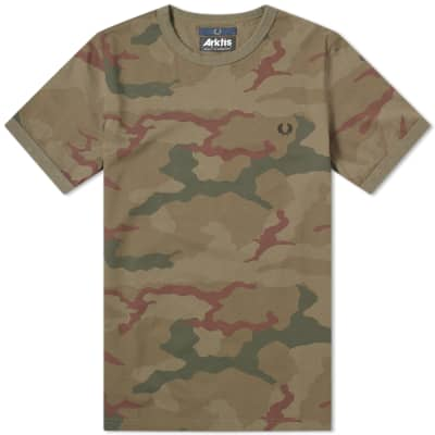 Fred Perry x Arktis Camo Tee