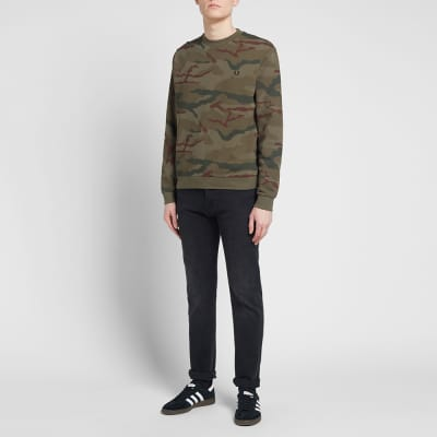 Fred Perry x Arktis Camo Sweat