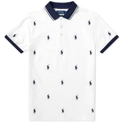 684a7f1e79001 Polo Ralph Lauren All Over Embroidered Polo ...