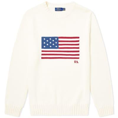 de0304afb4ea6 Polo Ralph Lauren Flag Intarsia Knit ...