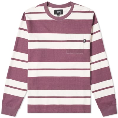 ca78c751590 Stussy Franklin Stripe Crew Sweat ...