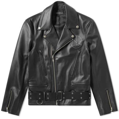8a329c5a1f4d4 Undercover New Warriors Leather Jacket ...