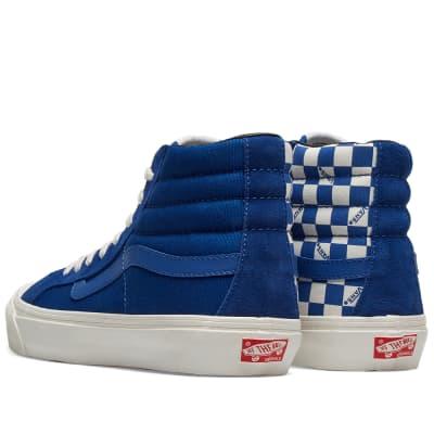 335763c068 ... Vans Vault OG Style 138 LX · Vans Vault OG Style 138 LX True Blue    Checkerboard