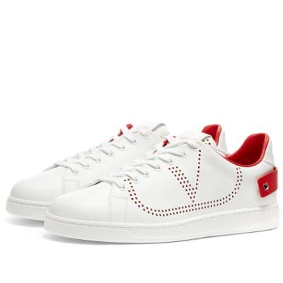 ca25884bf96 Valentino Net Go Logo Sneaker ...