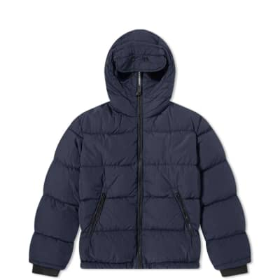 C.P. Company Undersixteen Goggle Hooded Zip Down Jacket