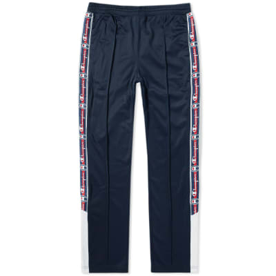 Champion Reverse Weave Popper Taped Track Pant ... c77209eb859