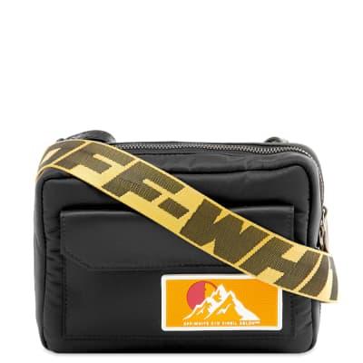 Off-White Puffy Travel Crossbody Bag