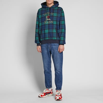 Tommy Jeans 6.0 Plaid Crest Hoody M31