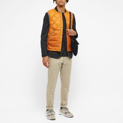 And Wander Diamond Stitch Down Vest