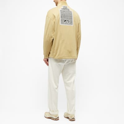 Cav Empt Block Fleece Half Zip