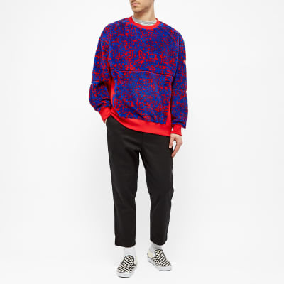 Cav Empt Noise Fleece Crew