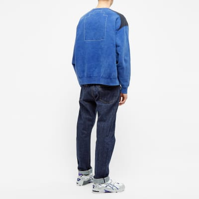 Cav Empt Overdyed Panel Crew Sweat