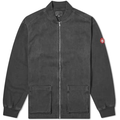 Cav Empt Sweat Sleeve Zip Jacket