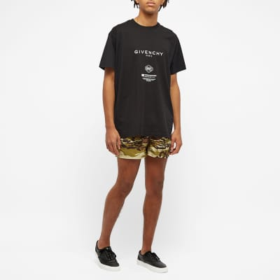 Givenchy Cheetah Camo Swim Short